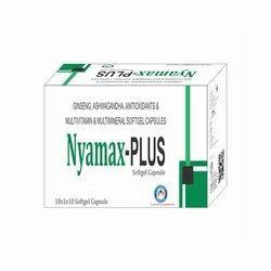 Ashwagandha 50mg   Ginseng 40 Mg   Vitamin a 5000 I.U.   Vit. D3 400 I.U.