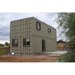 Double Storage Container House