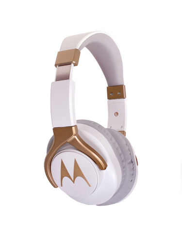 White-Gold Motorola Pulse 3 Max Wired Over-ear Headphones, Rs 2599 ...
