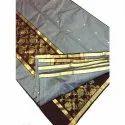 Ladies Chanderi 3 Piece Unstitched Suit