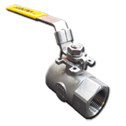 REDUCED PORT 1 PIECE BALL VALVE (THREADED) SERIES 102