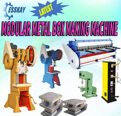 GI Modular Electrical Box Making Machine