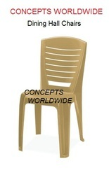 Plastic Dining Chairs | Concepts Worldwide | Exporter In Andheri East,  Mumbai | ID: 10987157373