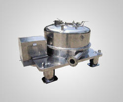 Stainless Steel Four Point Manual Top Discharge Centrifuge
