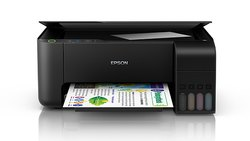 Black Colour Print - Copy - Scan Epson L3110 Multifunction InkTank Printer, Colour 5 Ipm