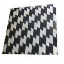 White And Black Raisin Tile, 16 Mm