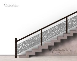 White Metal Banisters