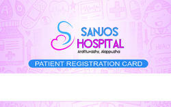 Plastic Hospital Patients Card