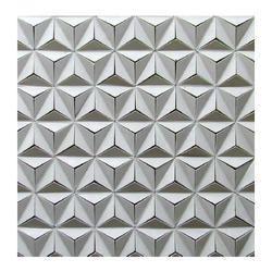 Mint Hexagon Stone Cladding
