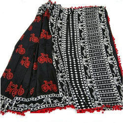 Black N White Sarees