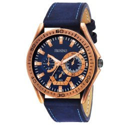 Frosino FRAC061804 Analog Blue Dial Watch