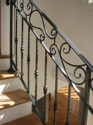 Cast Iron Stair Case Railing