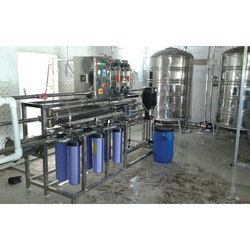 Automatic Commercial Water Treatment Plant