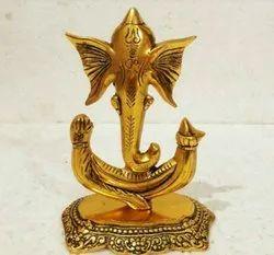 Rawsome Shack Metal Ganesh Ji Statue
