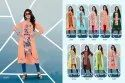 Satin Digital Printed Kurti