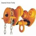 2 Ton GCT Type Gear Trolley With Chain