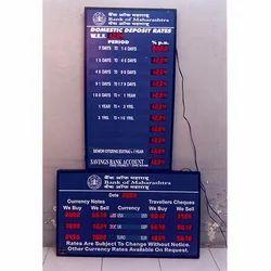 Informative LED Display Board