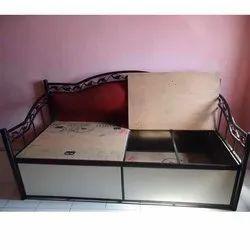 Modern Diwan Storage Sofa