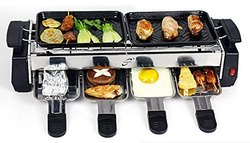 Electric And Barbecue Grill
