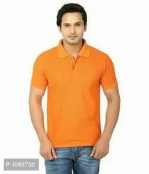 Branded Half Sleeves Cotton T Shirts For Men's