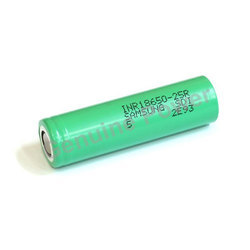 Samsung 18650 25r 20a High Discharge Battery, Voltage: 3.6 V
