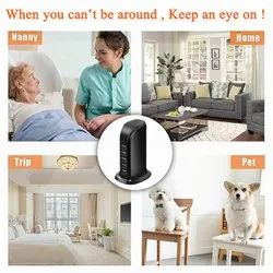 USB Wall Charger Baby Camera Monitor Camcorder For Smart Home