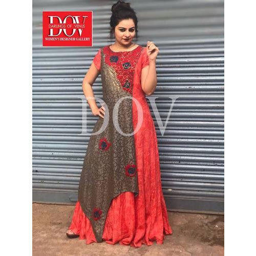 3806740de86 Wedding Wear Designer Anarkali Suit, Rs 5000 /piece, Darlings Of ...