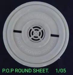 PVC Round fan sheet