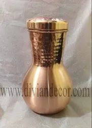 Hammered Copper Wine Carafe