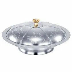Stainless Steel Silverline Flower Serving Dishes