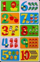 Count & Match Inset Puzzle