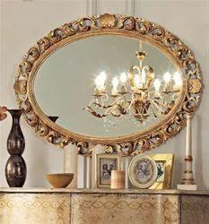 Rococo Wooden Mirror