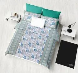 Printed Double Duvet Bed Sheet