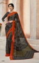 Designer Casual wear Printed Georgette Saree
