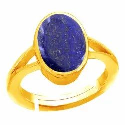 Lapis Lazuli Ring Women and Men Asthdhatu Gemstone