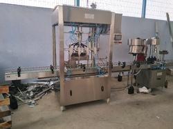 Automatic PLC Based Filling machine