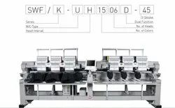 Dual Type Automatic Embroidery Machine