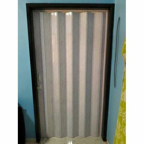 PVC Accordion Door  sc 1 st  IndiaMART & Pvc Accordion Door Decorative Polyvinyl Chloride Door PVC ...