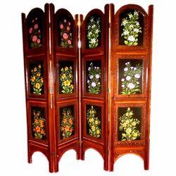 Wooden Antique Flower Partition