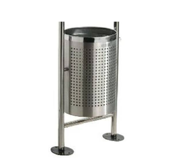 S/S Perforated Stand Bin