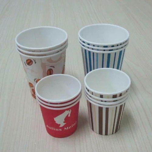 Disposable Paper Tea Cups 100 ML - Om Sai Traders, New Delhi   ID