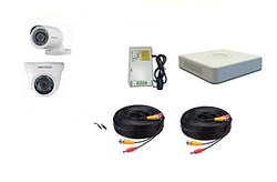 HIKVISION Full HD 2MP Cameras Combo KIT (HIK2MP1D1BIP/IRP-ECO Camera), For Indoor Use