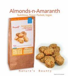 Grainny''s Organic Whole-Grain Vegan Amaranth & Almond Cookie