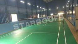 Indoor Badminton Court Roofing Shed