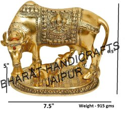 Golden Plated Cow