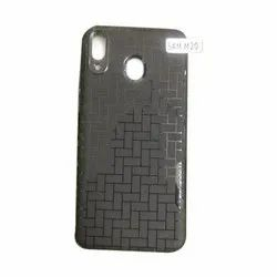 TPU Black Samsung M 20 Mobile Back Cover, Size: 10 X 5 X 3 Cm