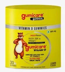 Vitamin D Gummies Lemon Flavour