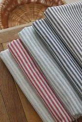 Fairtrade Organic Cotton Yarn Dyed Stripe Fabric
