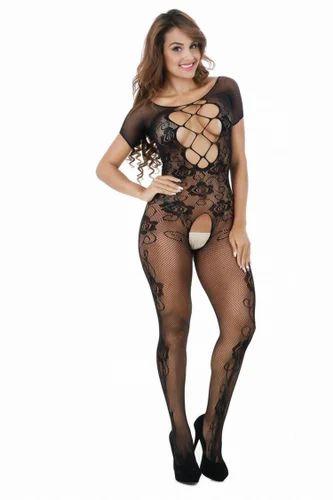 e06cbdd20 Women Net Black Color Full Body Stockings