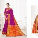 Zari Weaving Work Organza Saree